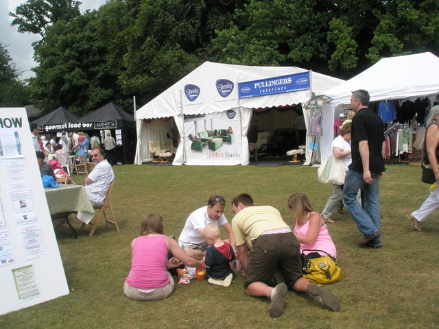 Time for a sit down at the 2010 Stansted House Garden Show