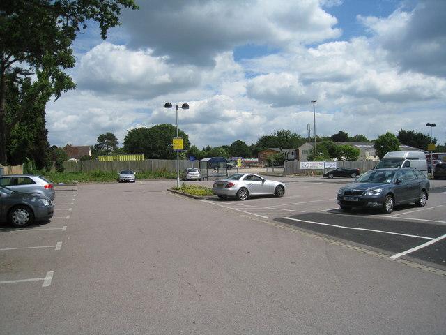 Sainsburys car park - Tadley