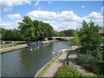 SU4767 : Kennet & Avon Canal by Scriniary
