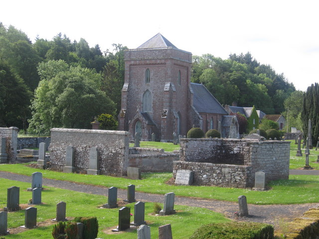 The magnificent church at Hobkirk