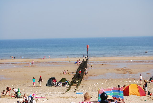 Sewage outfall pipe, North Sands