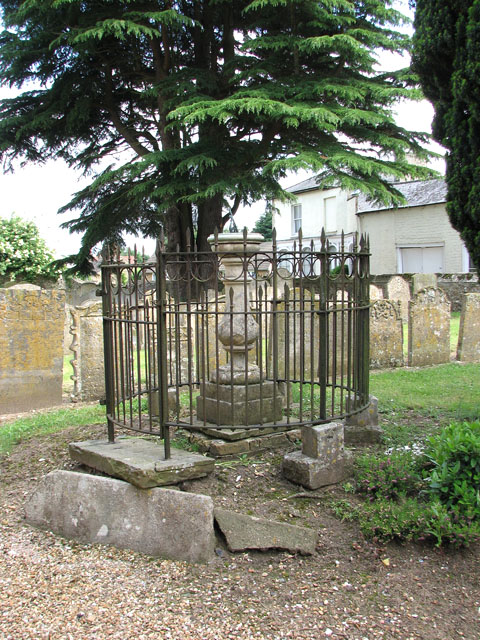 St Andrew's church in Northwold - sundial in churchyard