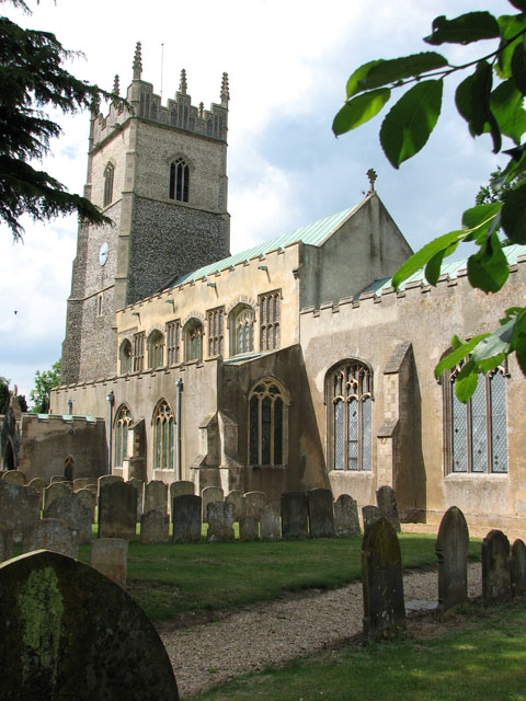 St Andrew's church in Northwold