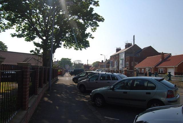 Street Parking, St Anne's Road