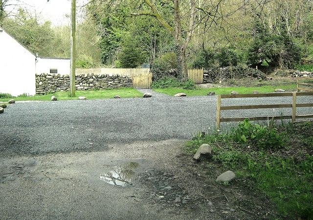 Parking area at Kirkdale Port