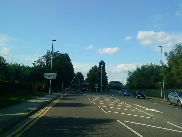 Bypass Road becomes a dual carriageway