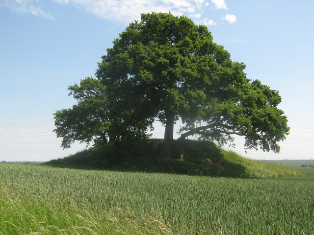 Tumulus on the Saxon Shore Way