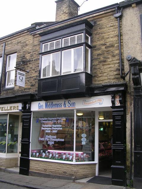 Geo Middlemiss & Son Butchers - Market Street