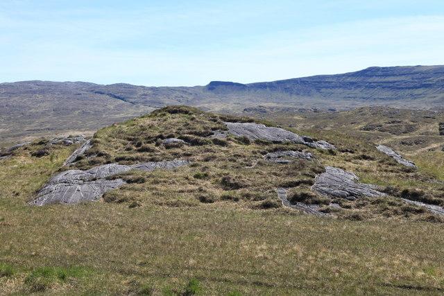 View towards Coire Slabhaig