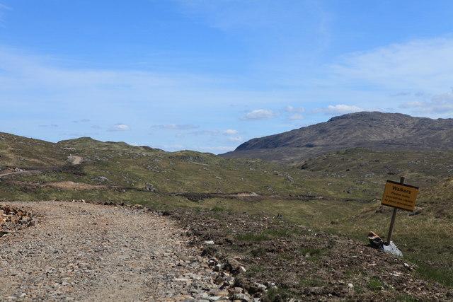 Track to Loch Teàrnait