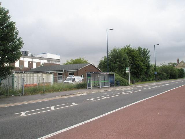 Bus shelter opposite Forest End