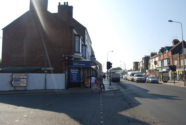 Quay Rd, Springfield Avenue junction