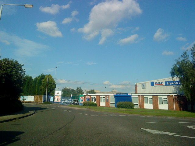 Industrial units on Padge Road