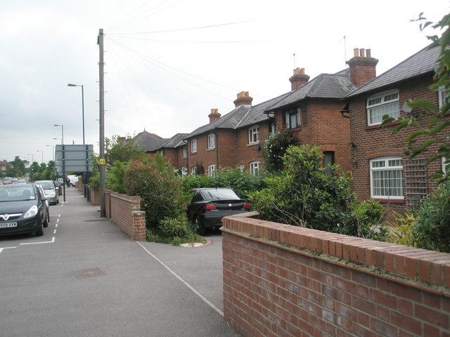 Houses in London Road