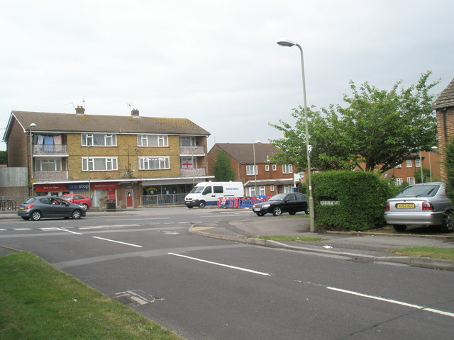 Looking from Kelly Road into Mill Road