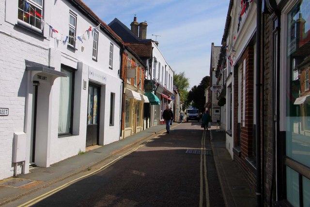 High Street in Yarmouth