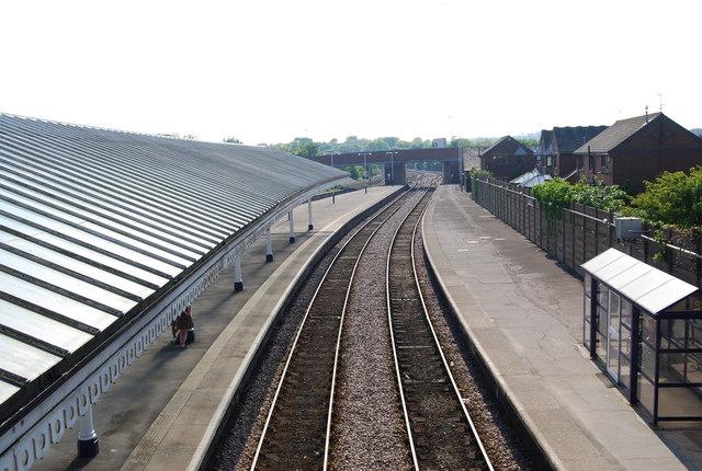 Bridlington station platforms