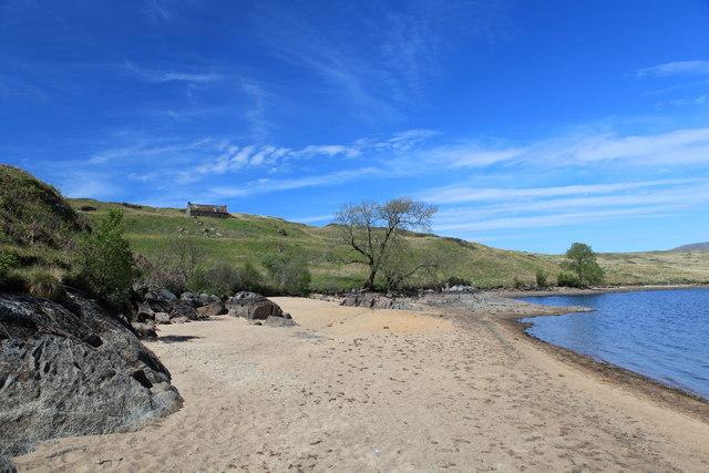 Shore of Loch Teàrnait