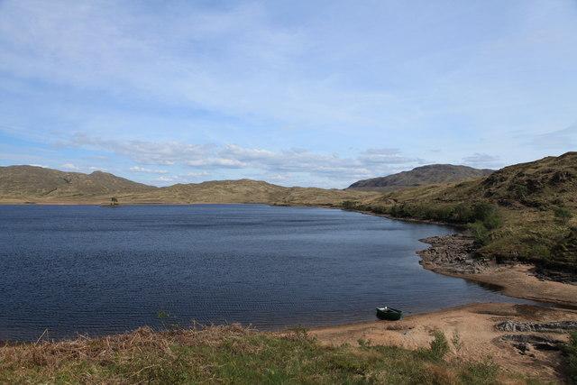 Southern shore of Loch Teàrnait