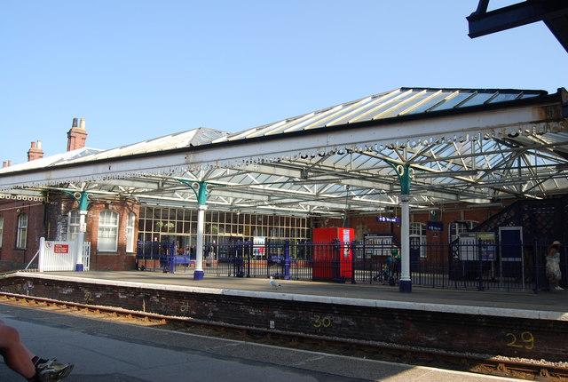 Forecourt, Bridlington Station