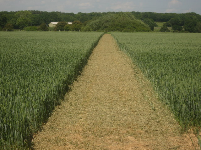 Footpath to Kenardinton Road