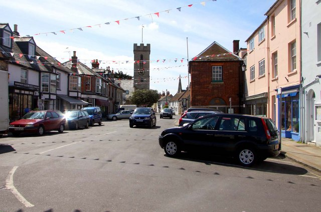 The Market Square in Yarmouth