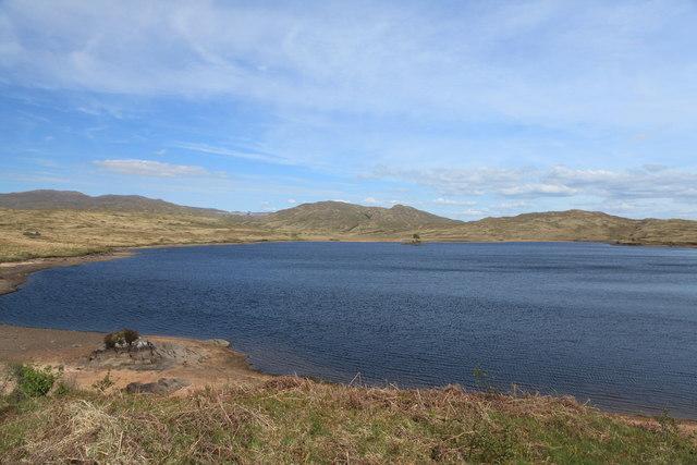 Northern shore of Loch Teàrnait
