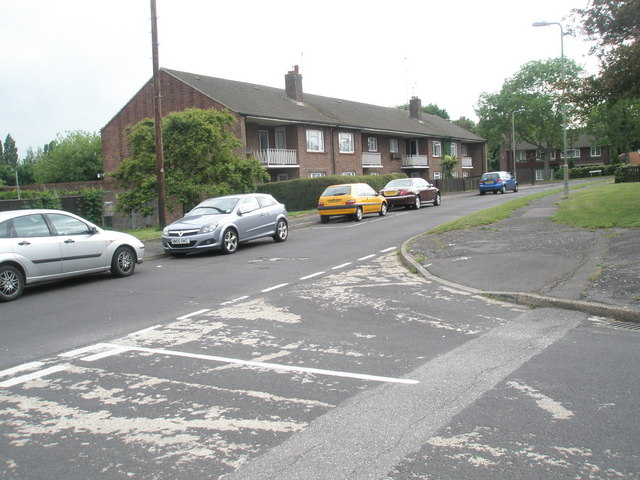 Junction of Hamble Lane and Cunningham Road