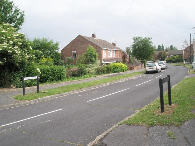 Top end of Hamble Lane