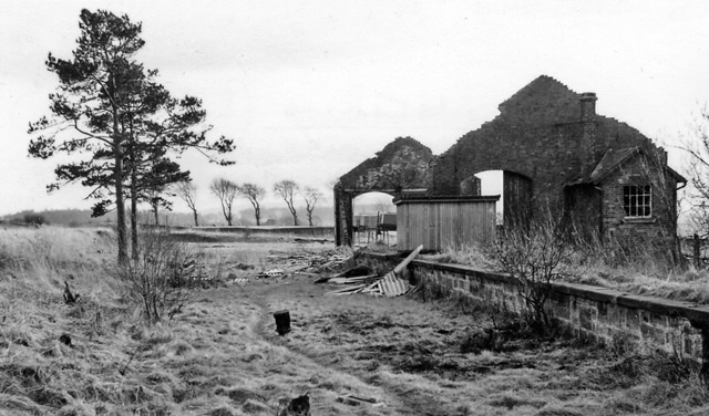 Brocketsbrae Station (remains)