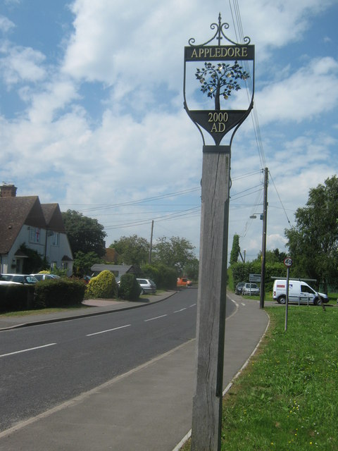 Appledore Village Sign