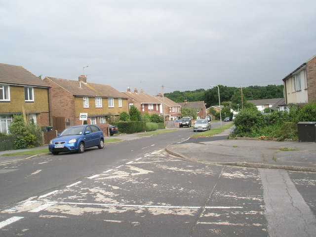 Junction of Hamble Lane and Vian Road