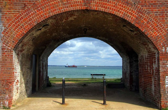 An arch at Fort Victoria