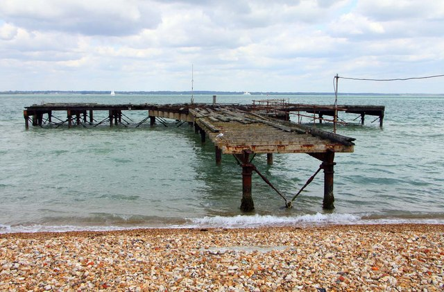 The old pier near Fort Victoria