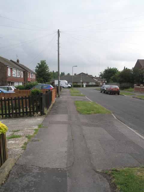 Pavement in Kelly Road