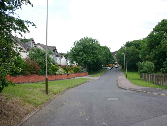 Junction of Piper Way and Piper Close