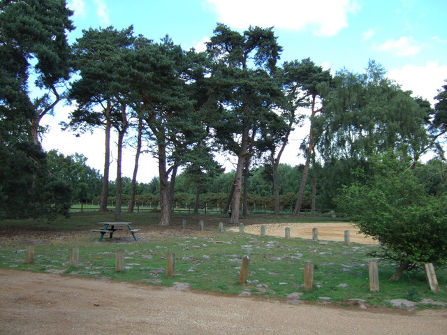 Picnic area on the Dersingham by-pass