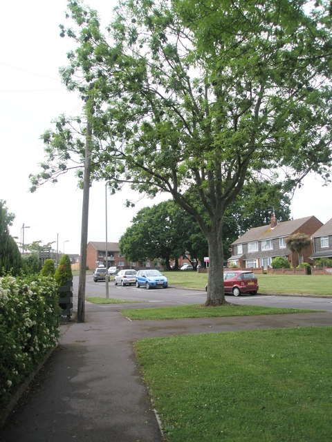 Approaching the junction of  Boyle Avenue and Cunningham Road