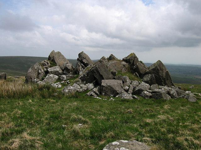 Fake stone circle