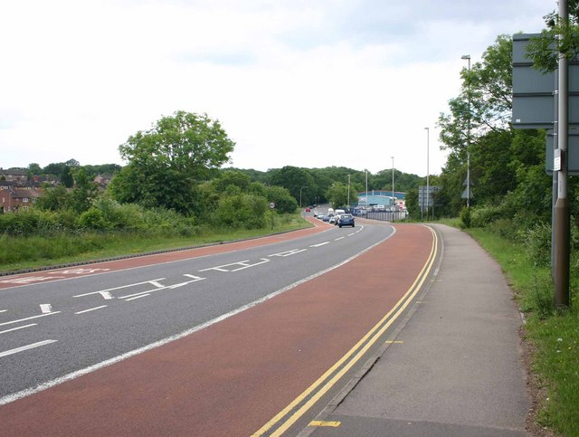 A47 Hinckley Road in Braunstone Town, Leicester
