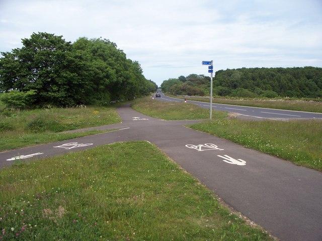 Meeting of cycleways