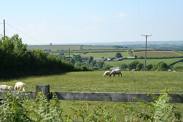 Stoodleigh: towards Lower Rifton