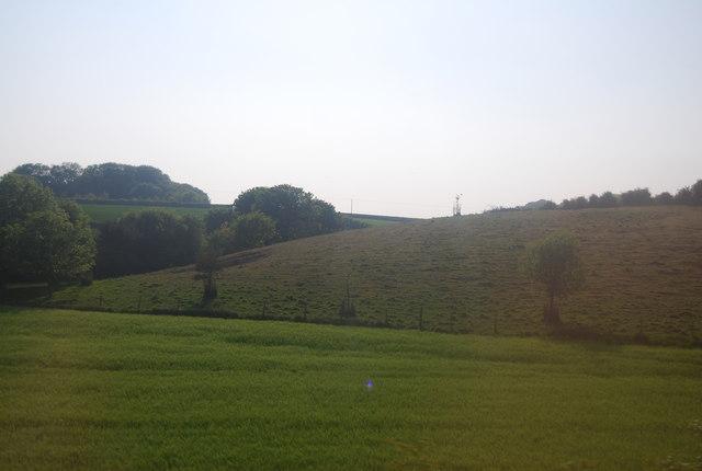 Chalk dry valley