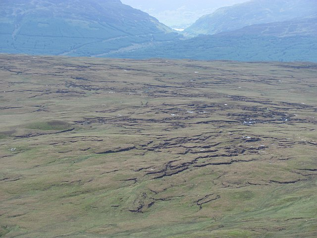 Boggy plateau between Glen Lochay and Glen Dochart