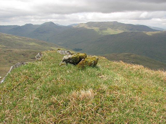 883m summit east of Sgiath Chùil