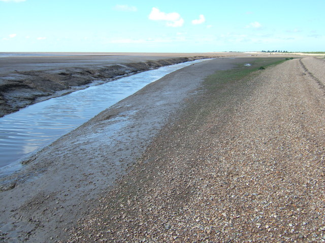 Wolferton Creek looking north
