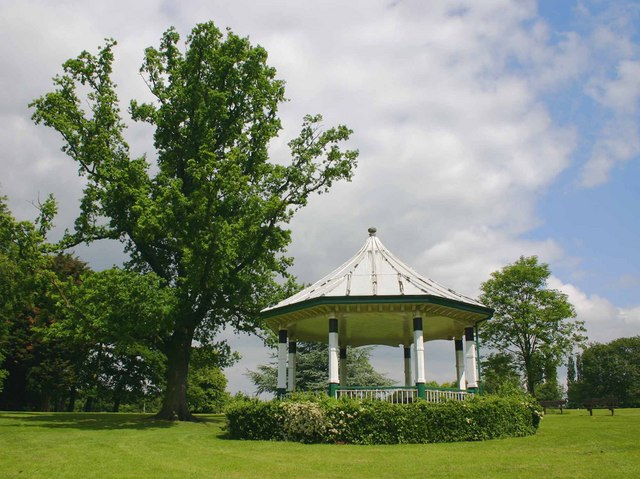 Bandstand, Western Park, Leicester