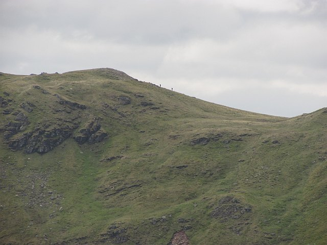 North ridge of Sgiath Chùil