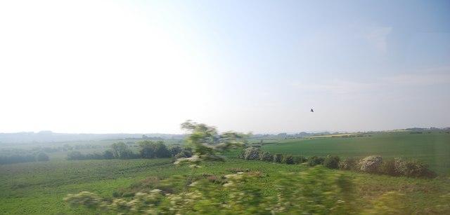 Rural landscape near The Dams
