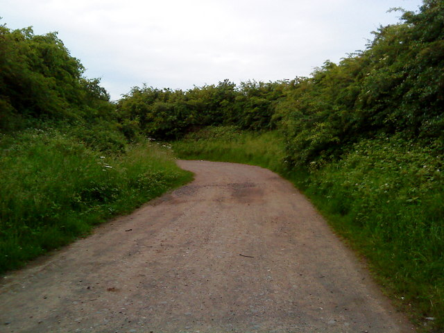 Approach to the bridge over the A52